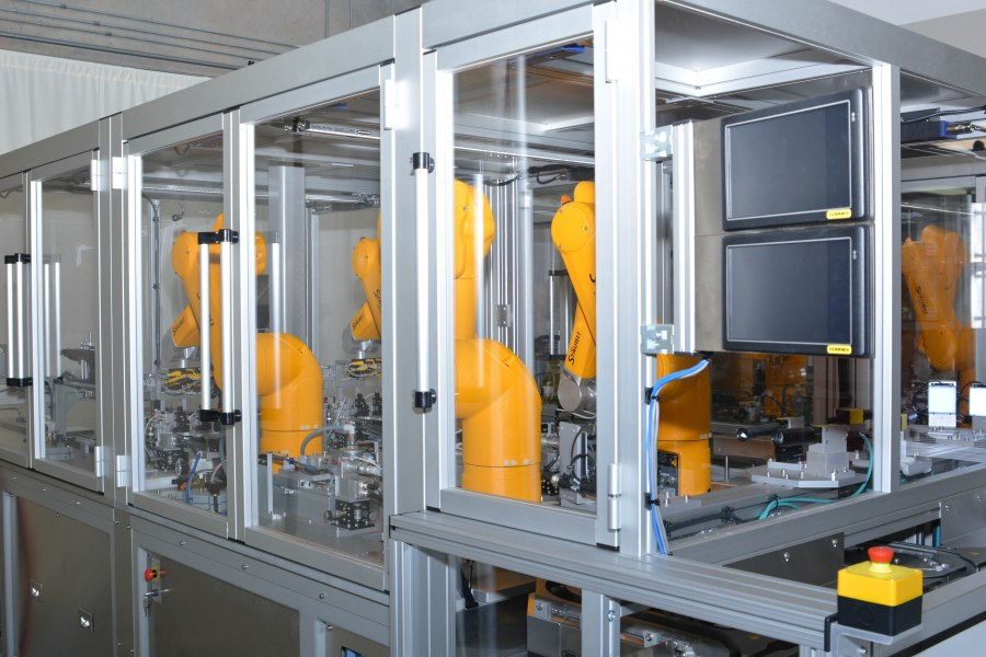 Machine enclosures keep automation safe