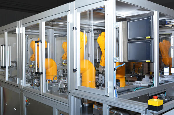 Machine Enclosures for Assembly Lines